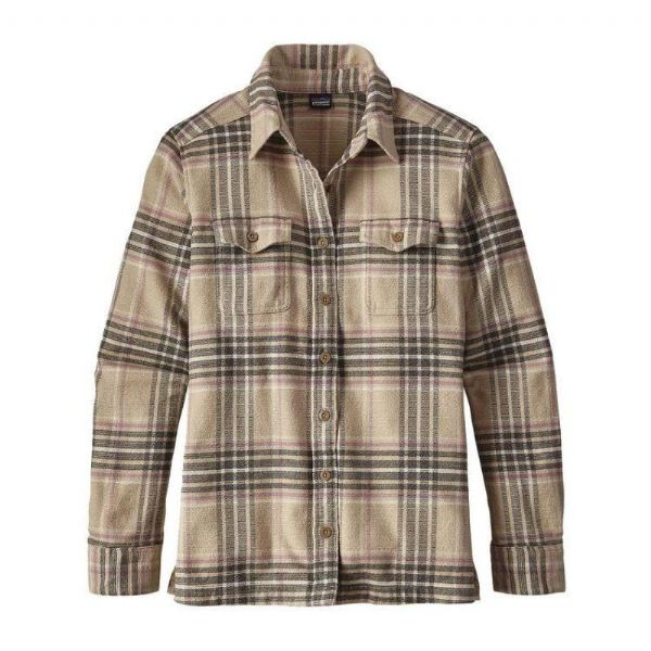 Patagonia women's long sleeved Fjord Flannel Shirt